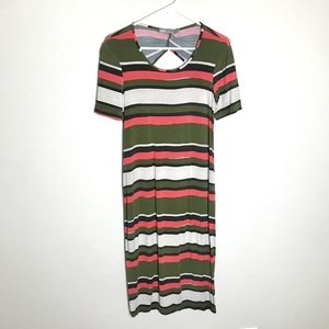 🔹4/$25 ASOS Size 8 Striped Maxi Dress